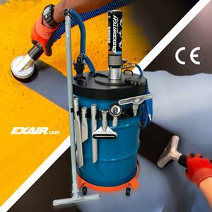 Exair EasySwitch Vacuums Wet/Dry Materials