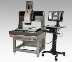 Starrett Large Multisensor Vision System Optimizes QC Process