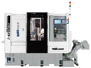Quicktech Turn-Mills Feature Integrated 6-Axis Robot