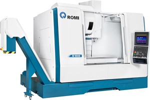 Romi's D Series Vertical Machining Centers Built for Rigidity and Speed
