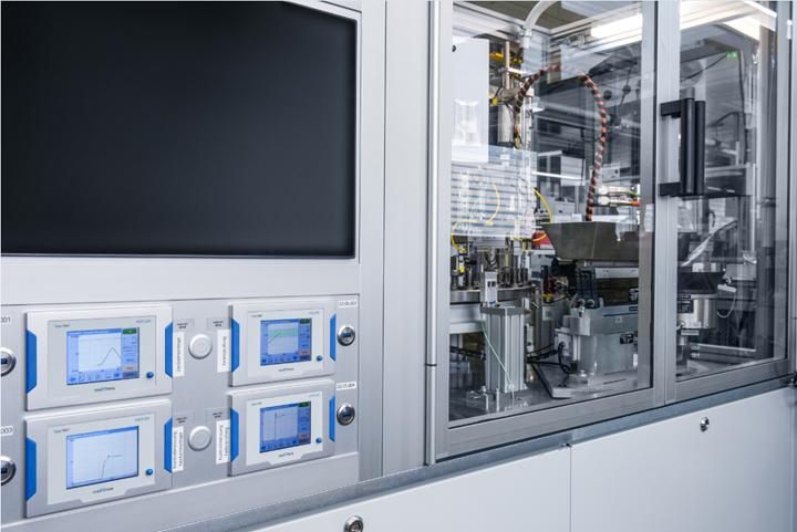 Kistler maXYmos BL process monitoring system