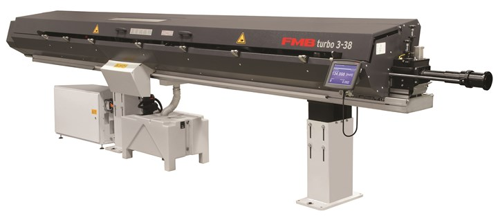 Edge Technologies FMB Turbo 3-38 bar feeder