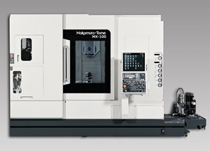 MX-100 Multitasking Machining Center Equipped with 15-hp Upper Tool Spindle