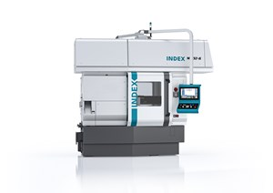 Index Corp.'s MS32-6 Multi-Spindle Automatic Lathe Offers Flexible Tool Slide