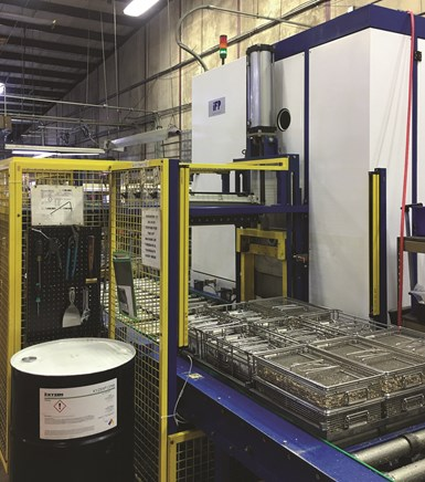vacuum vapor degreaser