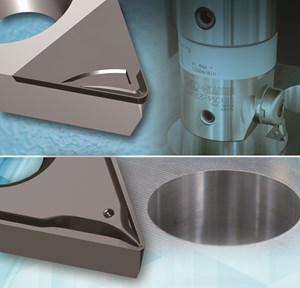 Big Kaiser Chip Breaker Inserts Improve Surface Finish