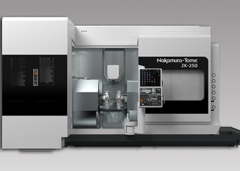 Nakamura JX-250 Offers Large Machining Area Envelope