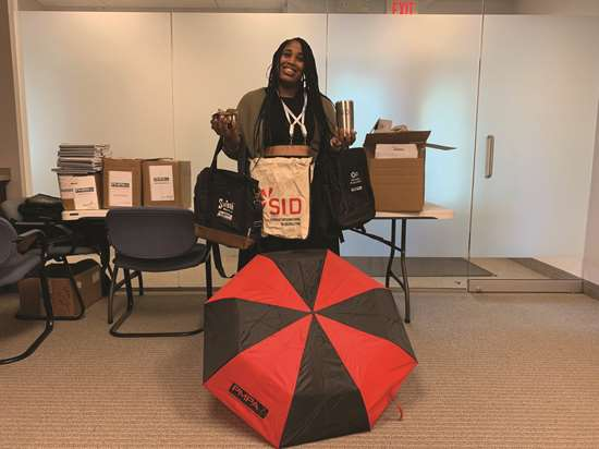 Veronica Durden loves to shop and knows how to find a deal! She puts her skills to good use by finding all the swag for our meetings and conferences.