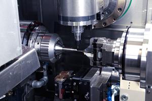Mill-Turn Enables Multitasking, Single Setup Machining