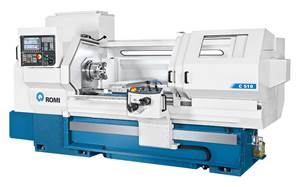Romi's CNC Teach Lathes Can Operate Manually, Automatically