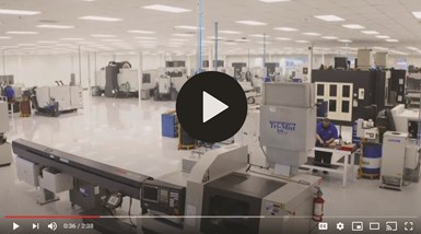Companies like Roush Yates Manufacturing Solutions create videos to show off their capabilities.