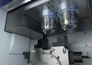 Emag Twin Spindle Lowers Gear Machining Costs