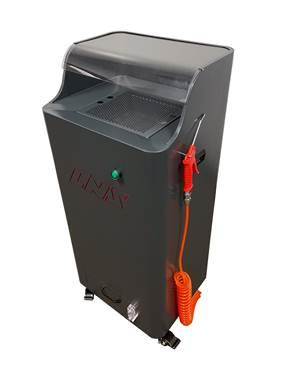 LNS Compact, Mobile Spray Cabin Eliminates Contaminants