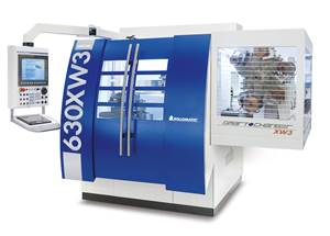 Rollomatic Offers Compact, Versatile 6-Axis Tool Grinder