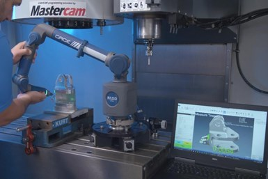 By configuring any new or existing Faro portable CMM with Verisurf 2020 software, customers can realize immediate measurement performance gains.