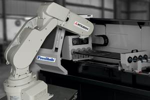 Gun Barrel Processing Cell Incorporates Drilling, Reaming and Rifling