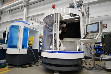 United Grinding adds new robotic automation option for rebuilt Walter grinders.