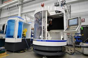 United Grinding Adds New Robotic Automation Option for Rebuilt Walter Grinders