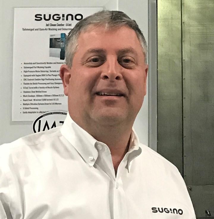 Don Reeder, general manager, Sugino