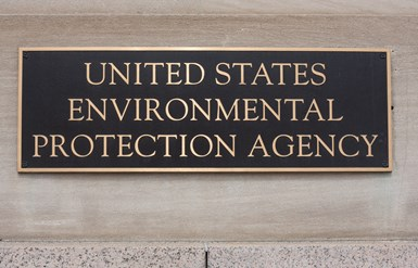 EPA building sign