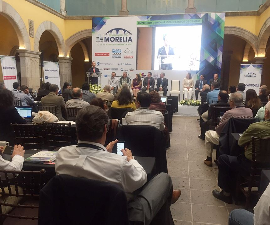 Inauguración de la 50 Convención de Anipac, en Morelia (Michoacán)