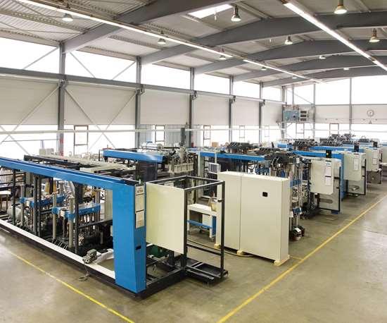 Montaje de instalaciones de termoformado para la industria del embalaje