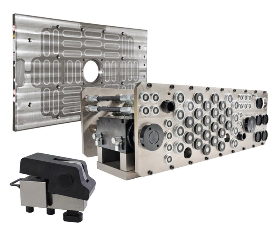 Cambio rápido de moldes, con EAS Mold en Plastimagen