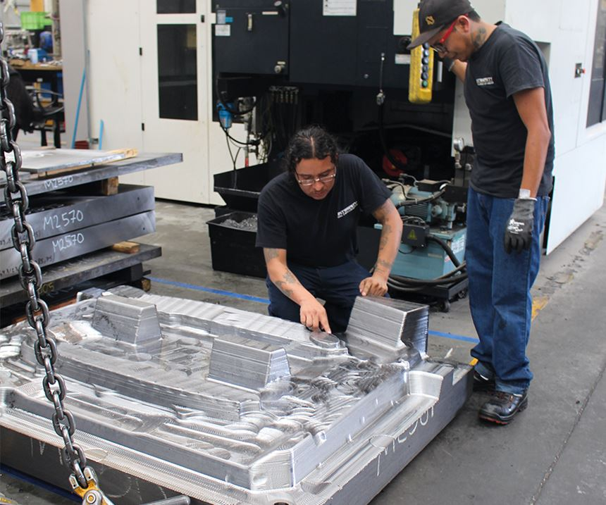Encontramos que hay un gran talento en México para fabricación de moldes: Wayne McLaughlin.