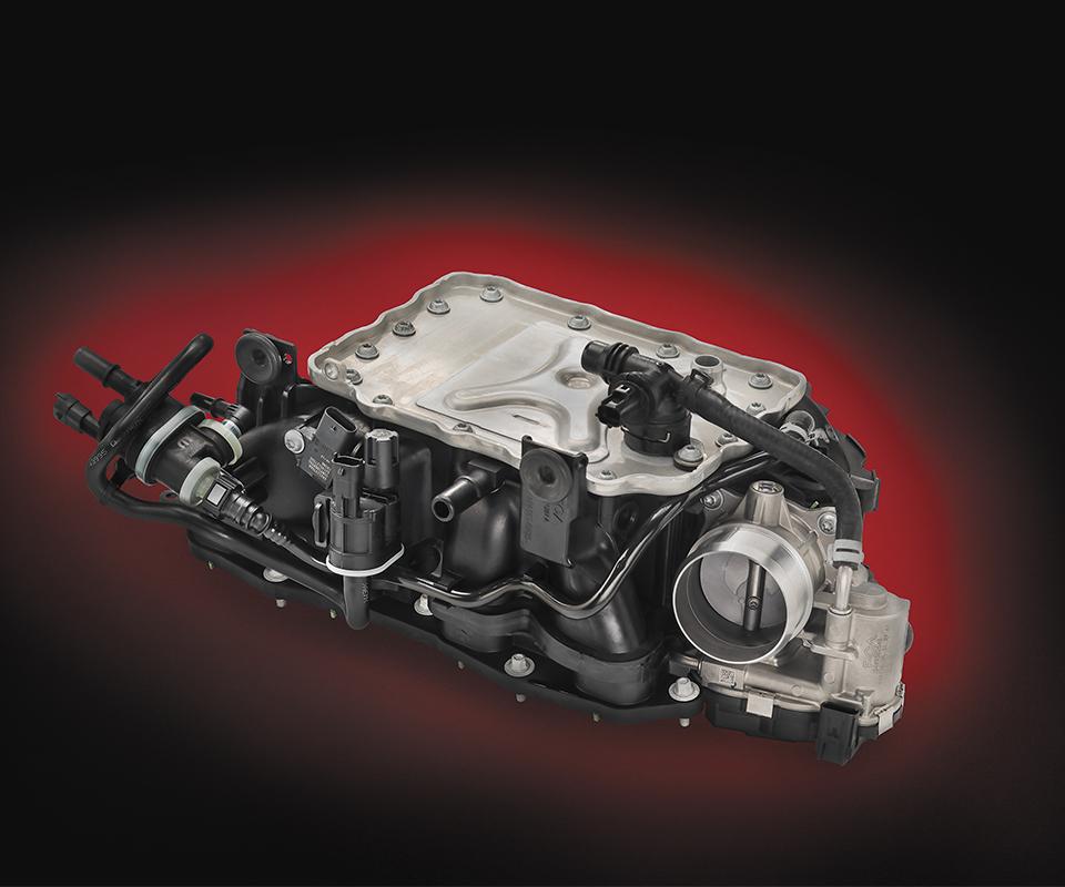 Manifolds y ductos de aire son el objetivo del Nylon 66 Endure de Basf Ultramid.