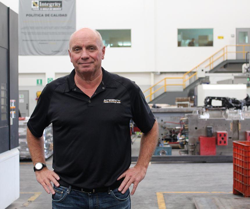Wayne McLaughlin, director de Integrity Tool & Mold de México.