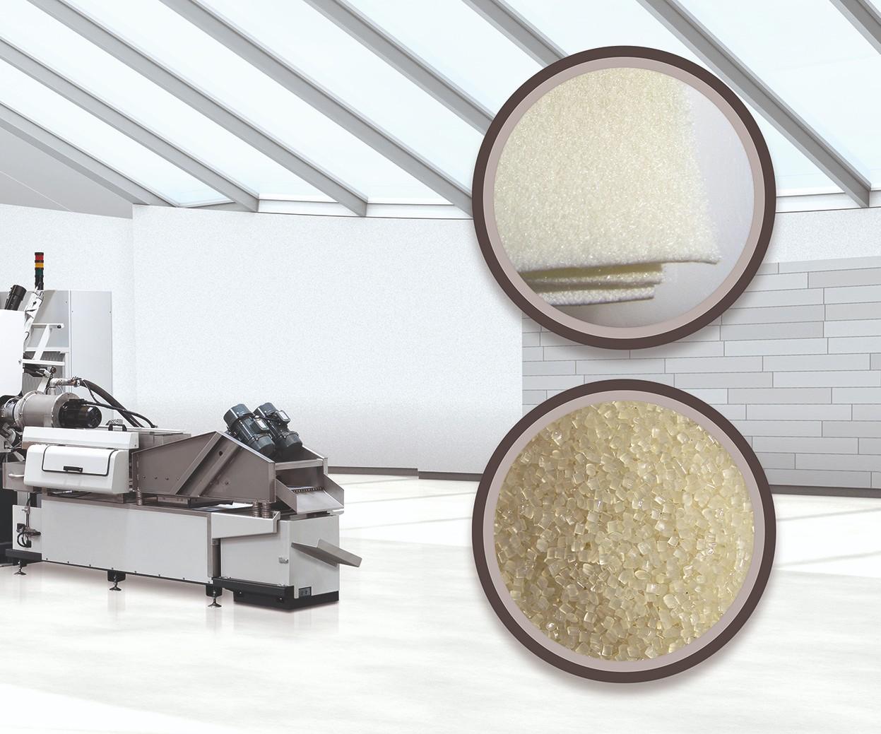 Reciclaje de fibras textiles, con tecnologías de Starlinger