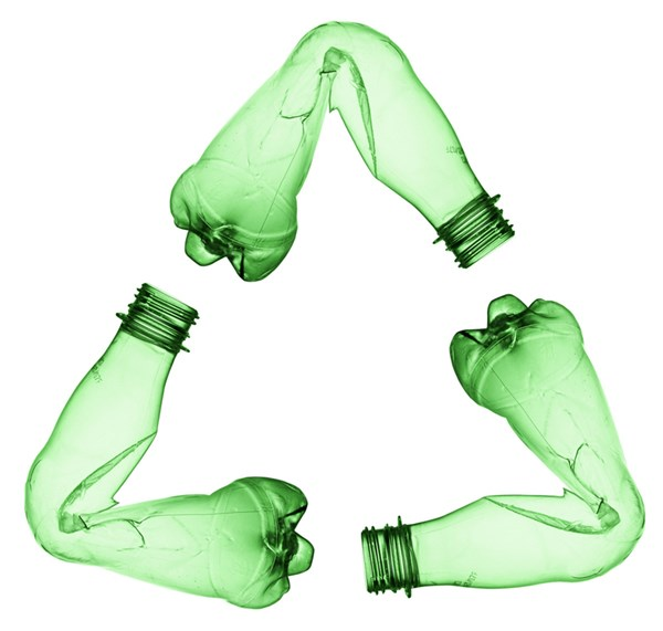 Empresa de reciclaje de PET en México.