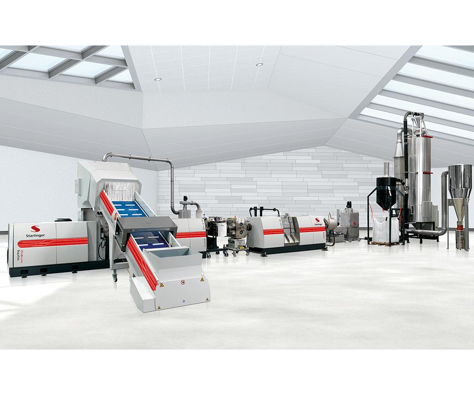 El módulo de desgasificación C-VAC es clave para eliminar olores.