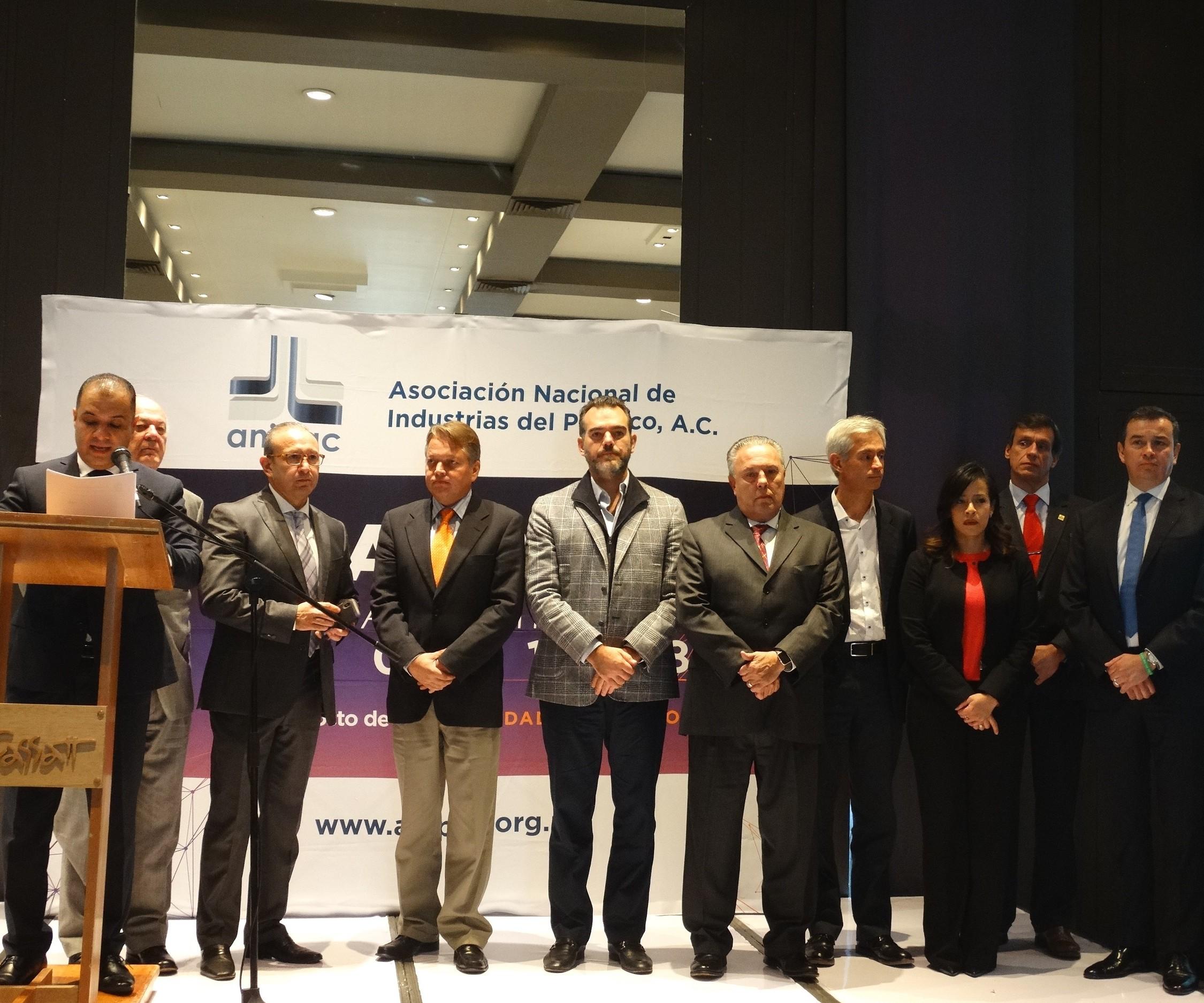 Comisión Ejecutiva de la Asociación Nacional de Industrias del Plástico, A.C. (ANIPAC) elige al Ing. AldimirTorres como nuevo presidente.