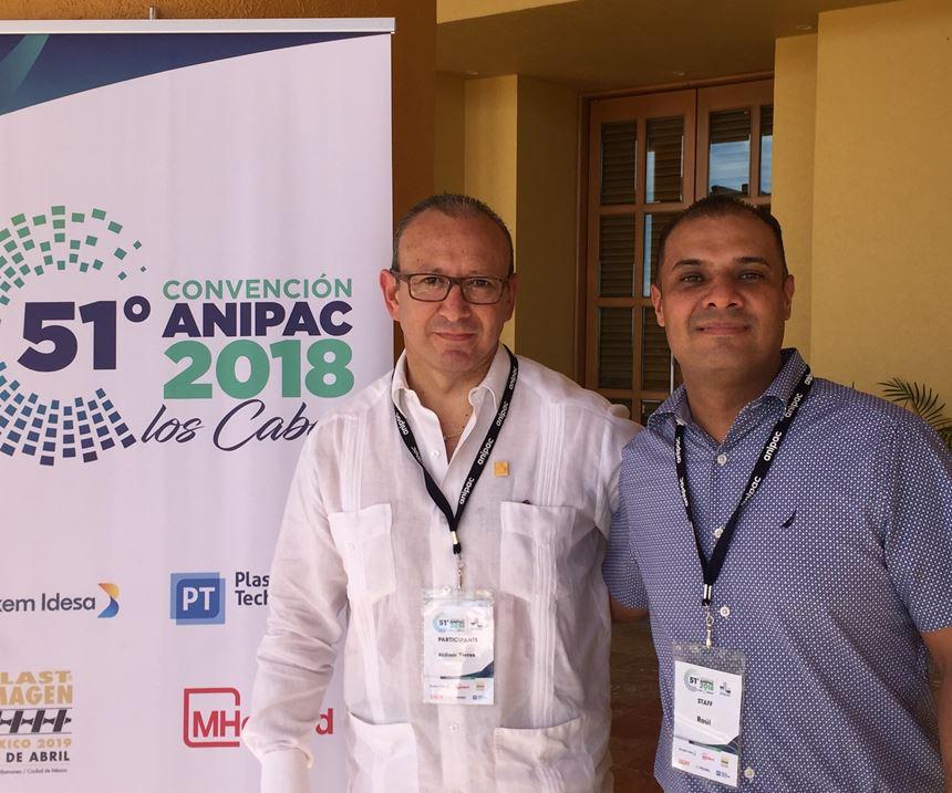 Ing. Aldimir Torres Arenas, presidente de ANIPAC, y Raúl Mendoza, director general.