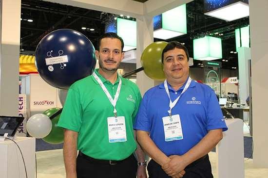 Mario Azpeitia, Latam Commercial Manager y Arnoldo Chapa, Account Manager en Americhem