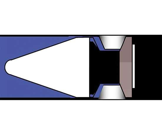 Figura 1. Anillo deslizante Válvula Check/Válvula anti-retorno