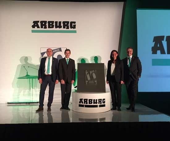 Celebra Arburg 10 años en México