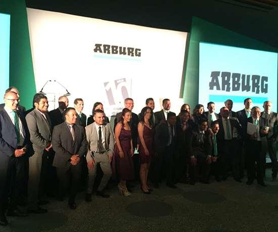 Equipo de la filial de Arburg en México.