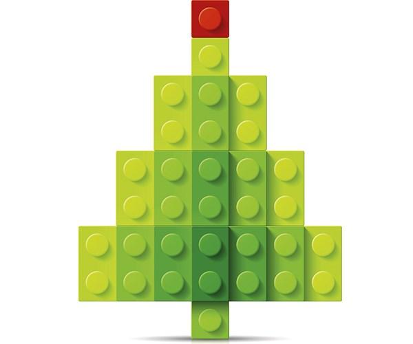 Lego incluirá materiales de base vegetal a sus tradicionales juegos.