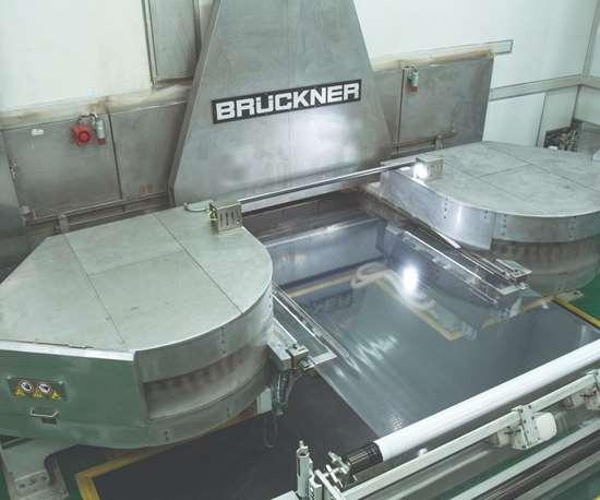 Sistema de extrusión para film stretch, de Bruckner.