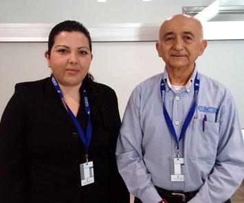 Doctora Lluvia de Abril Alexandra Soriano Melgar y Doctor René Darío Peralta Rodríguez.