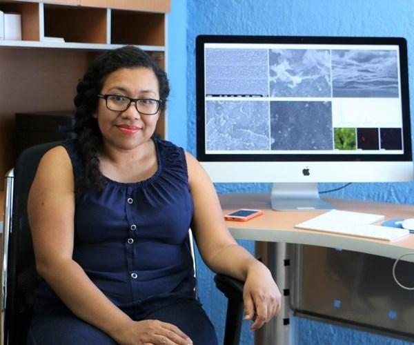 Dra. Berenice Domínguez, creadora de la nariz electrónica para detectar diabetes