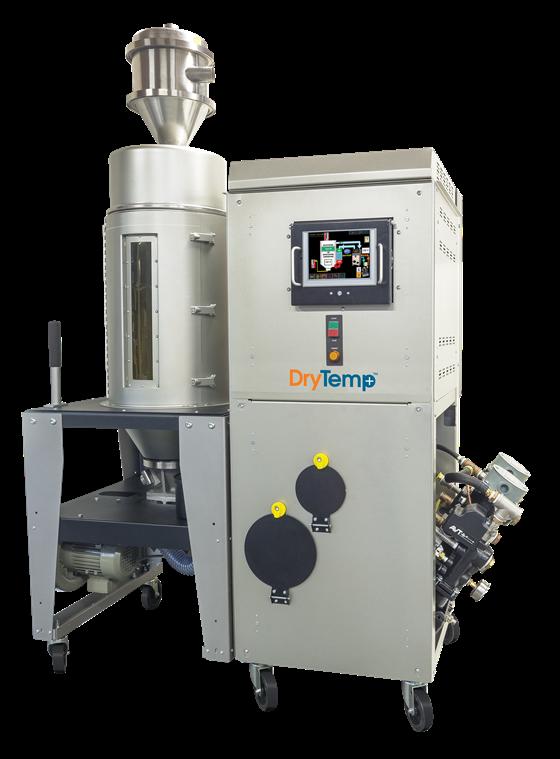 Advantage Engineering se asoció con el proveedor de equipos auxiliares Novatec para crear el DryTemp +