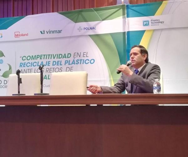 Ing. Eduardo Martínez, director de Plásticos Amigables al Ambiente y presidente  de la Sección de Recicladores de la Anipac