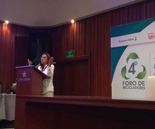 Gladys Zerquera, directora de Síntesis de Evaluación Ambiental A.C.