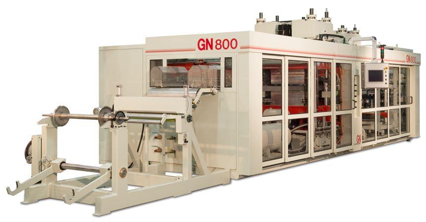 Nueva línea GN800, de GN Thermoforming.