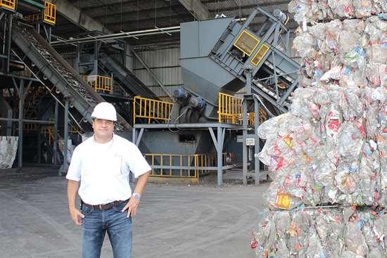 Jaime Haro Álvarez, gerente de las dos plantas: Green Mind Recycling y Green Mind Packaging.