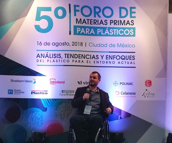 Markus Kerekes, de Dow Packaging and Specialty Plastics LA.