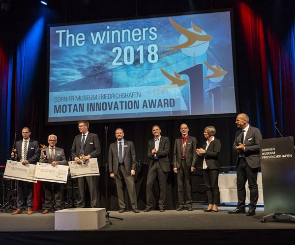 Ganadores de la edición 2018 de los premios mia, en el marco de Fakuma.